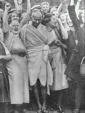Gandhi in india