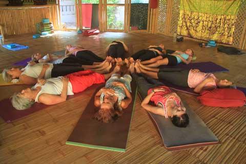 inside yoga shack 2 bali