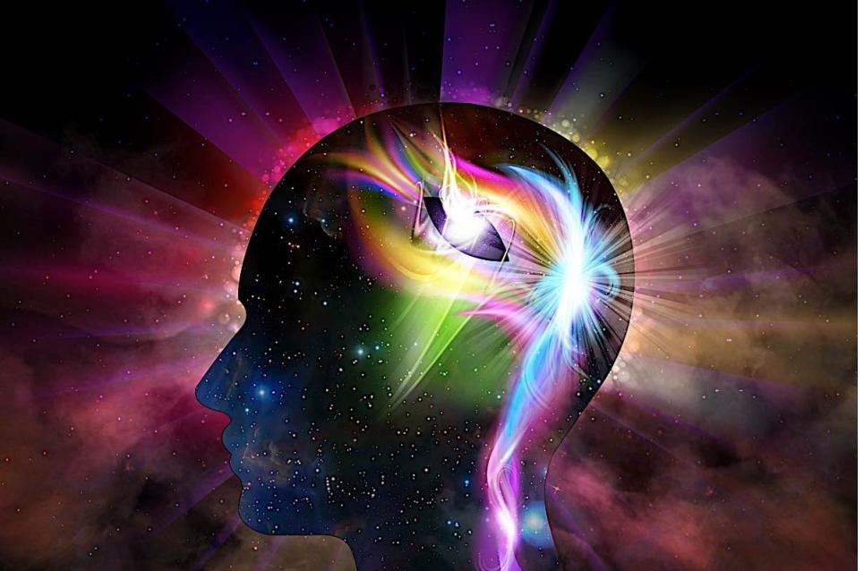 enlightenment happening in a mind